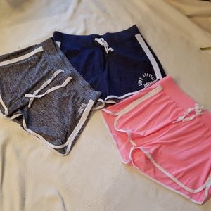 Lot of 3 Justice Shorts, Size 18/20